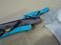 Ein wenig später waren die Taschen ganz verschwunden