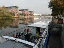 Am Sonnabendvormittag hatten wir die Schifffahrt rund um Lübeck.