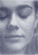 Francesca Romana, 2019, 100x70cm, dieci fogli di rete metallica intagliati a mano