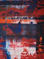 redblack // 28 X 40 cm // acryl on paper // #169 2019