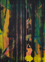 Untitled // 28 X 40 cm // acryl on paper // #197 2019