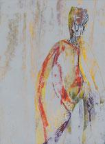 strange guy  // 20 X 29 cm //  acryl on paper // #70  2019