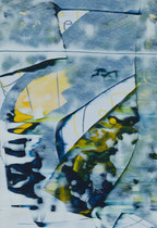 Untitled  // 20 X 29 cm //  acryl on paper // #123  2019