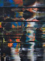 Untitled // 28 X 40 cm // acryl on paper // #193 2019