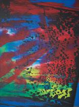 Untitled // 28 X 40 cm // acryl on paper // #150 2019