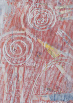 Untitled  // 13 X 18 cm //  acryl on paper // #41  2019