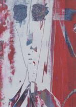 Untitled  // 20 X 29 cm //  acryl on paper // #56  2019