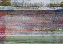 Untitled  // 13 X 18 cm //  acryl on paper // #109  2019