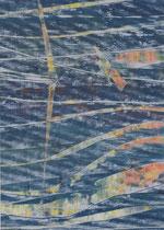 Untitled  // 13 X 18 cm //  acryl on paper // #39  2019