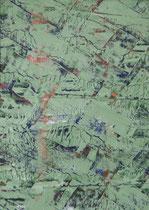 Untitled  // 13 X 18 cm //  acryl on paper // #1  2019
