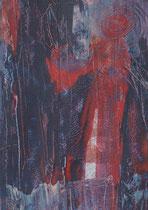 Untitled  // 20 X 29 cm //  acryl on paper // #46  2019
