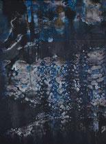 Untitled  // 28 X 40 cm // acryl on paper // #1 2020