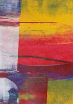 Untitled  // 13 X 18 cm //  acryl on paper // #97  2019