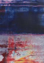 Untitled  // 13 X 18 cm //  acryl on paper // #98  2019