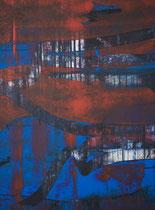 Untitled // 28 X 40 cm // acryl on paper // #165 2019