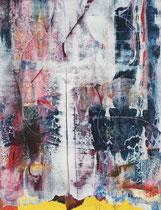 Untitled  // 49 X 69 cm //  acryl on paper // #127  2019