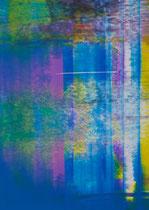 Untitled  // 13 X 18 cm //  acryl on paper // #136  2019