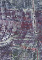 Untitled  // 13 X 18 cm //  acryl on paper // #18  2019