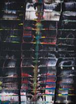 Untitled // 28 X 40 cm // acryl on paper // #196 2019