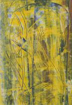 Untitled  // 20 X 29 cm //  acryl on paper // #49  2019
