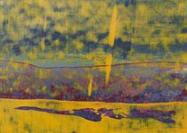 Untitled  // 20 X 29 cm //  acryl on paper // #94  2019