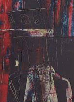 Untitled  // 20 X 29 cm //  acryl on paper // #63  2019
