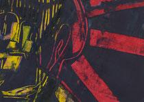 Untitled  // 20 X 29 cm //  acryl on paper // #65  2019