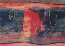 Untitled  // 13 X 18 cm //  acryl on paper // #108  2019