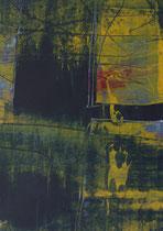 Untitled  // 13 X 18 cm //  acryl on paper // #83  2019