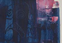 Untitled  // 20 X 29 cm //  acryl on paper // #38  2019