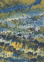 Untitled  // 13 X 18 cm //  acryl on paper // #21  2019