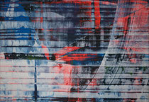 Untitled  // 20 X 29 cm //  acryl on paper // #161  2019