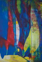 Untitled  // 20 X 29 cm //  acryl on paper // #152  2019