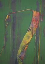 Untitled  // 13 X 18 cm //  acryl on paper // #104  2019