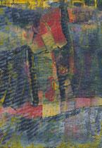 Untitled  // 20 X 29 cm //  acryl on paper // #40  2019