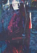 Untitled  // 20 X 29 cm //  acryl on paper // #51  2019