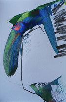 Andalucia_10 // 13 X 18 cm //  acryl on paper // #15  2020