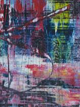 Untitled // 28 X 40 cm // acryl on paper // #115 2019