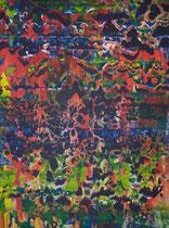monika_2 // 49 X 69 cm //  acryl on paper // #168  2019