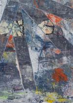 Untitled  // 13 X 18 cm //  acryl on paper // #42  2019