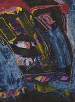 Untitled  // 20 X 29 cm //  acryl on paper // #60  2019
