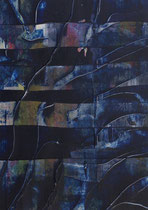 Untitled  // 13 X 18 cm //  acryl on paper // #80  (07/2019)