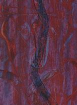 Untitled  // 20 X 29 cm //  acryl on paper // #61  2019