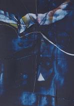 Untitled  // 20 X 29 cm //  acryl on paper // #76  2019