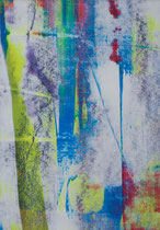 Untitled  // 13 X 18 cm //  acryl on paper // #134  2019