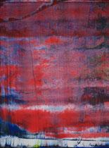 red sky // 28 X 40 cm // acryl on paper // #180 2019