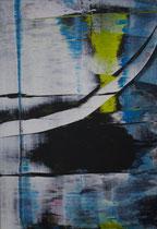 Untitled  // 20 X 29 cm //  acryl on paper // #195  2019