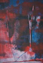 Untitled  // 20 X 29 cm //  acryl on paper // #144  2019