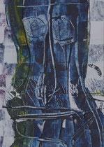 Untitled  // 20 X 29 cm //  acryl on paper // #67  2019