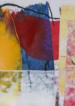 Untitled  // 13 X 18 cm //  acryl on paper // #99  2019